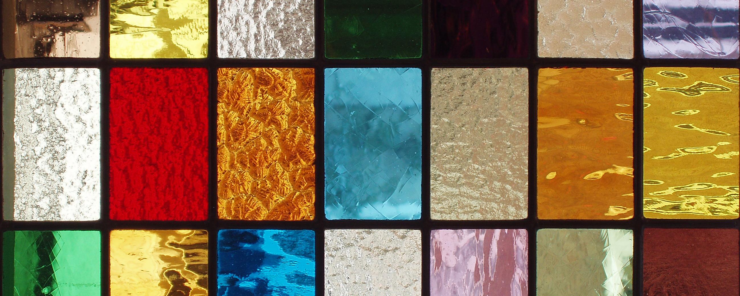 slide 14 alle kleuren glas-in-lood